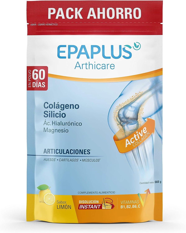 Epaplus Articulaciones Colágeno + Silicio + Ácido Hialurónico