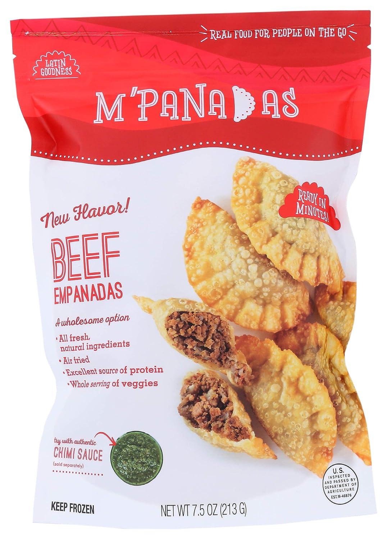 M'Panadas, Empanada Beef, 7.5 Ounce