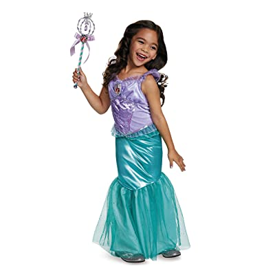 Ariel Deluxe Disney Princess The Little Mermaid Costume, Medium/7-8: Toys & Games