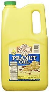 Great Bazaar Swad Peanut Oil, 96 Ounce