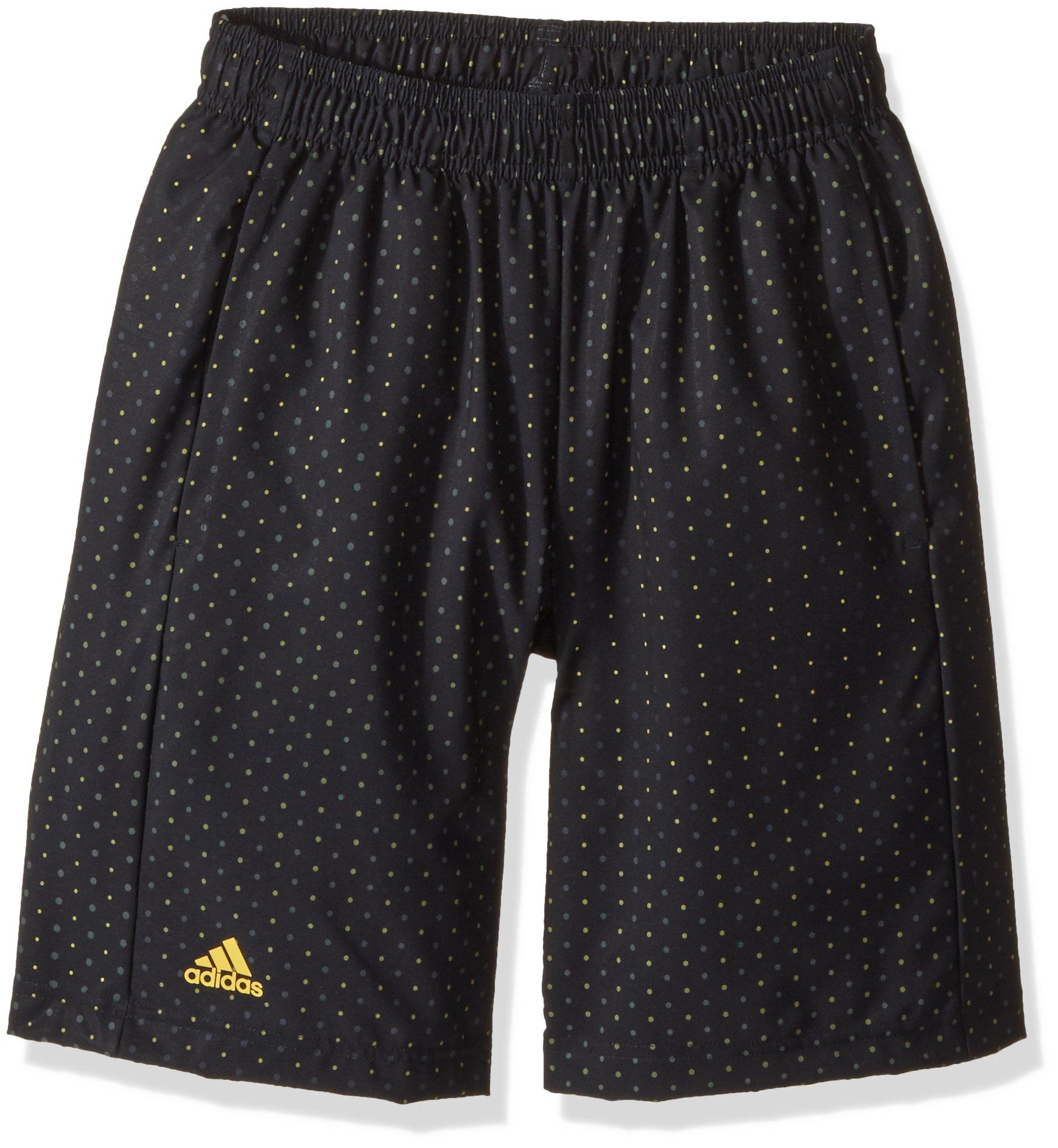 adidas Youth Boys Tennis Advantage Bermuda Shorts, Black, X-Small