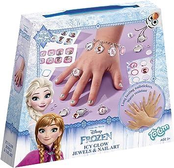 Totum de Disney Frozen/la Reina de Hielo/Manualidades de Juego: Joyas Manualidades + Pegatinas de Uñas: Amazon.es: Juguetes y juegos