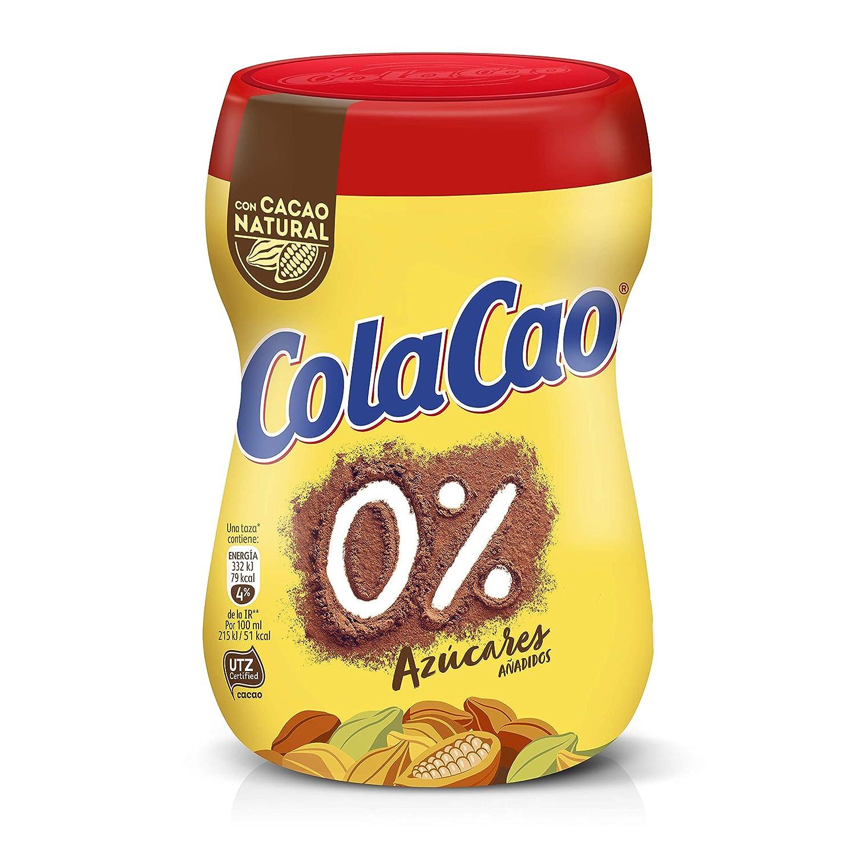 ColaCao 0% Azúcares Añadidos: Con Cacao Natural - Envase de 300 ...
