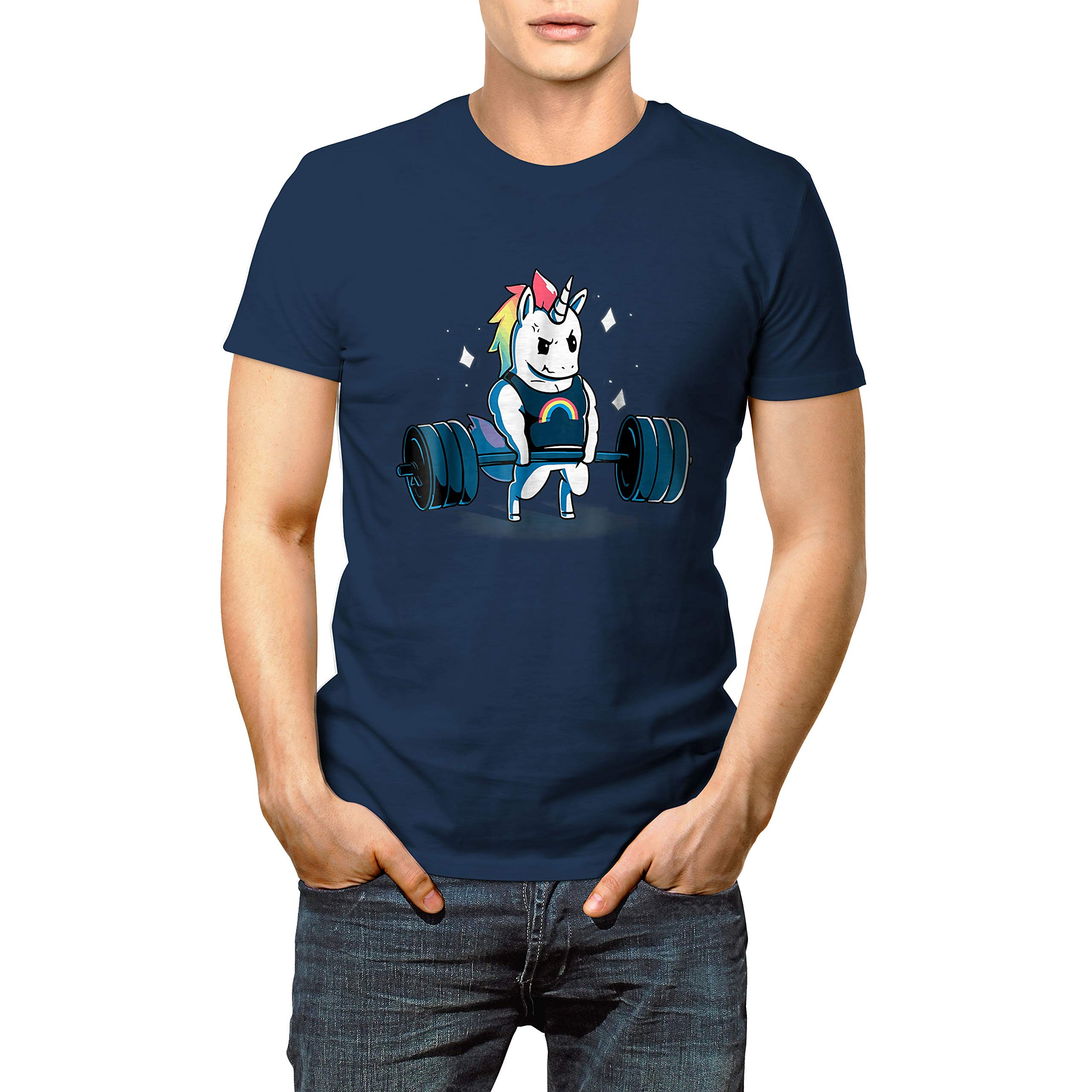 Funny Gym Unicorn Weightlifting Ness T Shirt Gift For Christmas New Year 6914