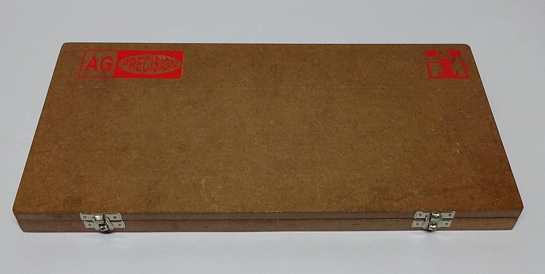 per Moto Vintage in Scatola di Legno AG Set di Tagli per sedi valvole con Pale da 21 cm