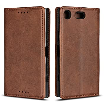 reputable site fc140 023bc Jaorty Sony Xperia XZ1 Compact Wallet Case,Sony XZ1 Compact Case,Premium PU  Leather Flip Folio Case with Card Slot,Stand Holder and Magnetic Closure ...
