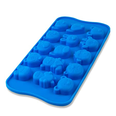 Marzipan Animals Design Chocolate Praline Mould Ice Cube Tray Silicone Cake Baking Mold Pan