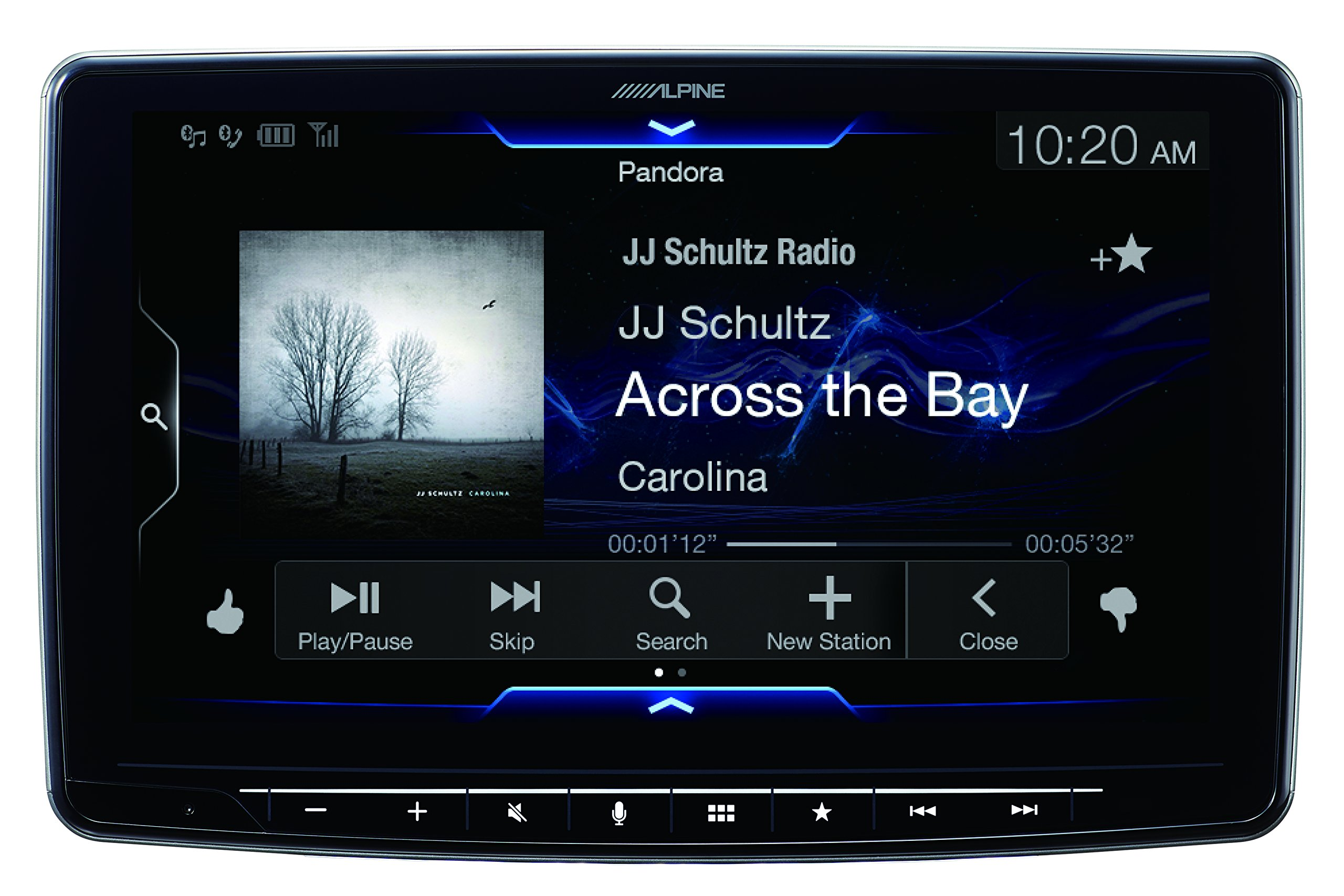 Alpine iLX-F309 HALO9 9'' AM/FM/audio/video Receiver w/ 9-inch Touch Screen and Mech-less Design - Single-DIN Mounting by Alpine (Image #7)