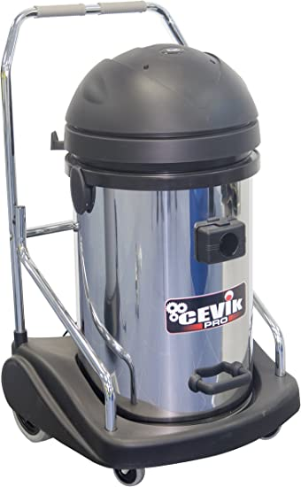 Cevik CE-PRO703INOXTR Aspirador sólidos y líquidos, 3300 W, 230 V ...