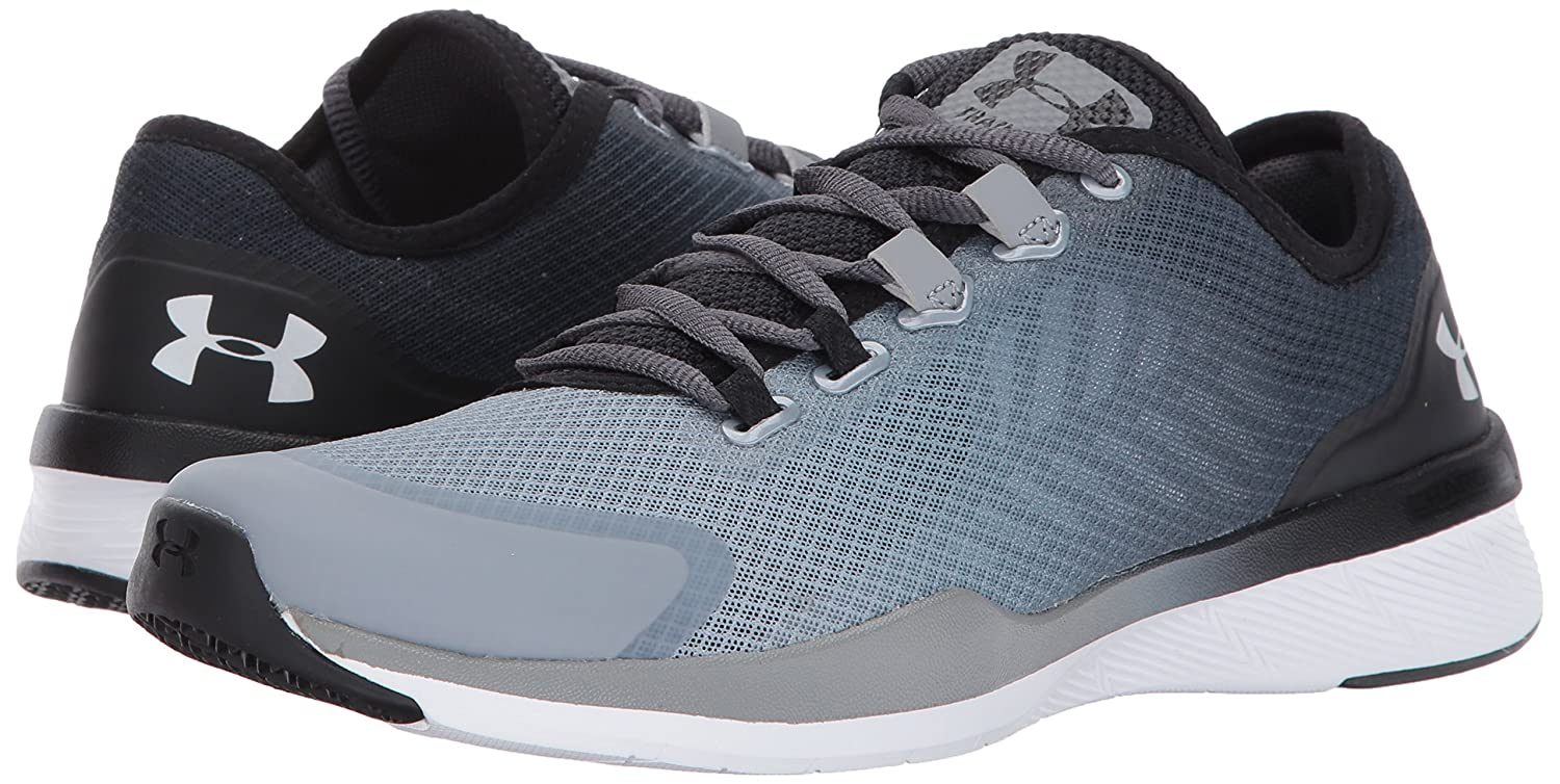 Under 6 Armour Women's Charged Push Cross-Trainer Shoe B01MQW5TN1 6 Under M US|Rhino Gray (077)/Steel 2ac809