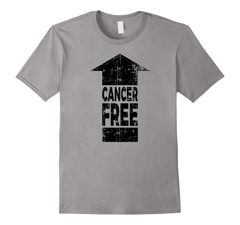Cancer Free Arrow - Cancer Awareness & Support T Shirt-FL
