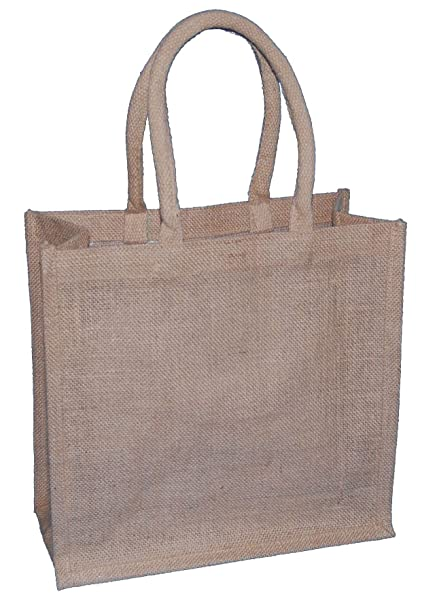 aff226dec85 Thepaperbagstore 5 MEDIUM NATURAL JUTE BAGS 300x150x300mm - CHOOSE YOUR  SIZE AND QUANTITY