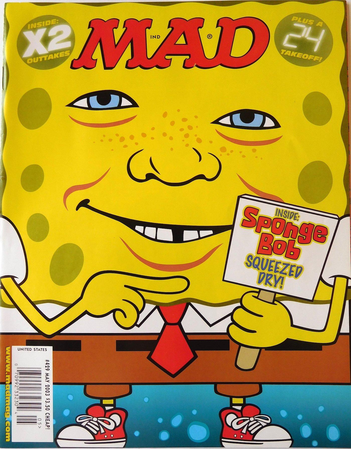 Mad Magazine Issue # 429 May 2003 PDF