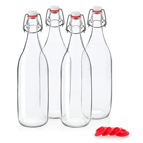 Review Swing Top Glass Bottles