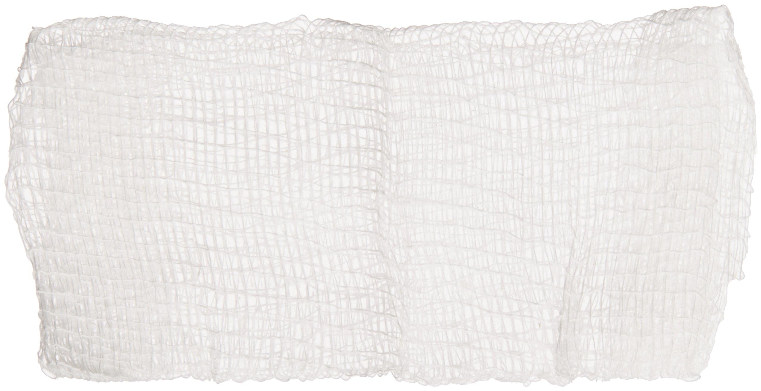 Covidien 2146 Curity Cotton Gauze Sponge, Non-Sterile, 2'' Length x 2'' Width, 8 Ply (25 Bags of 200)