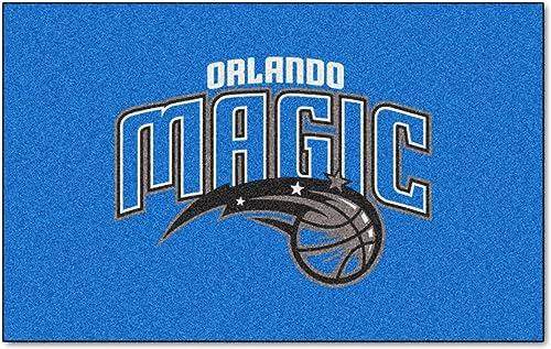 FANMATS NBA Orlando Magic Nylon Face Ultimat Rug