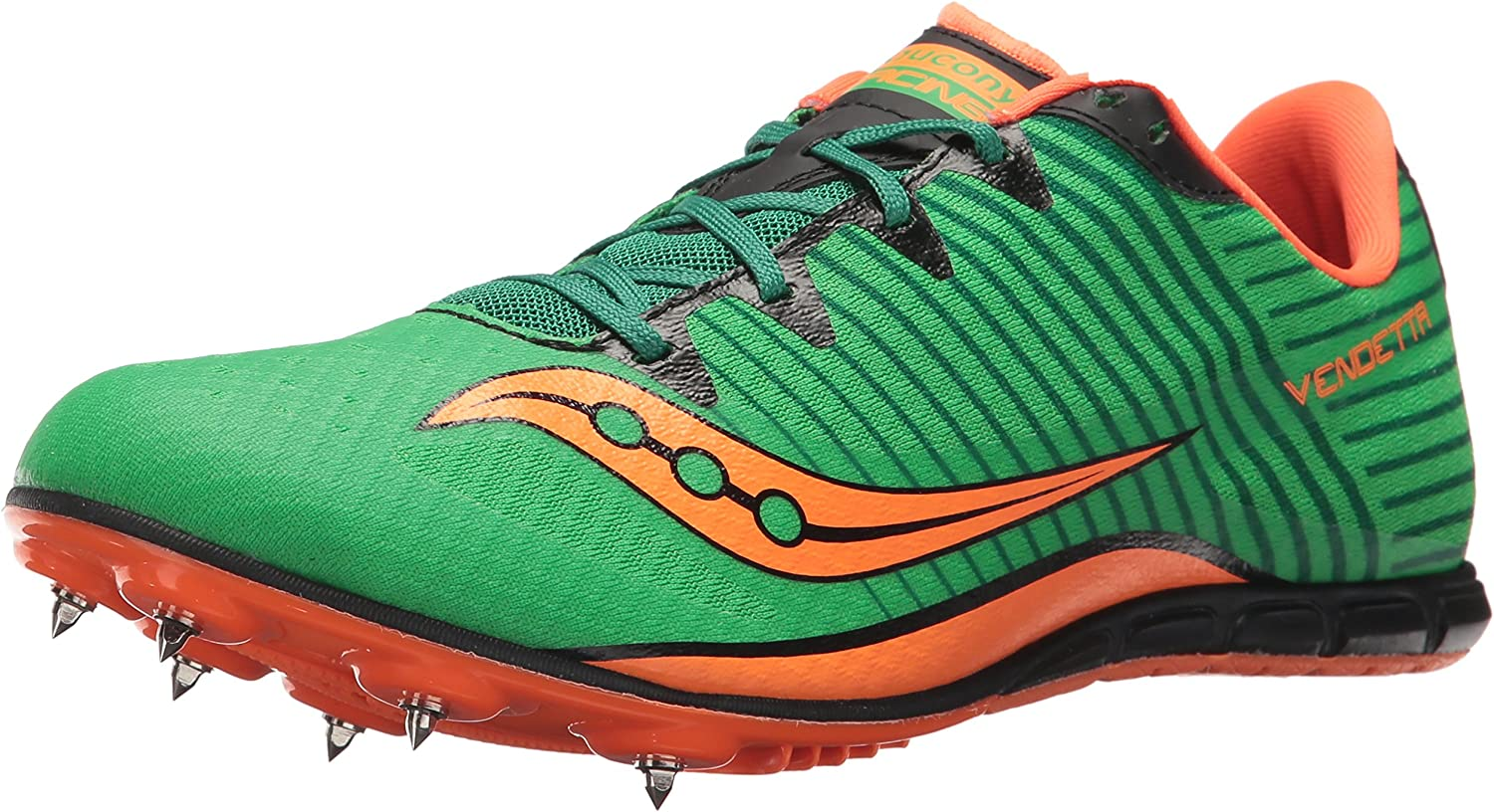 Saucony Mens Vendetta 2 Track and Field Shoe