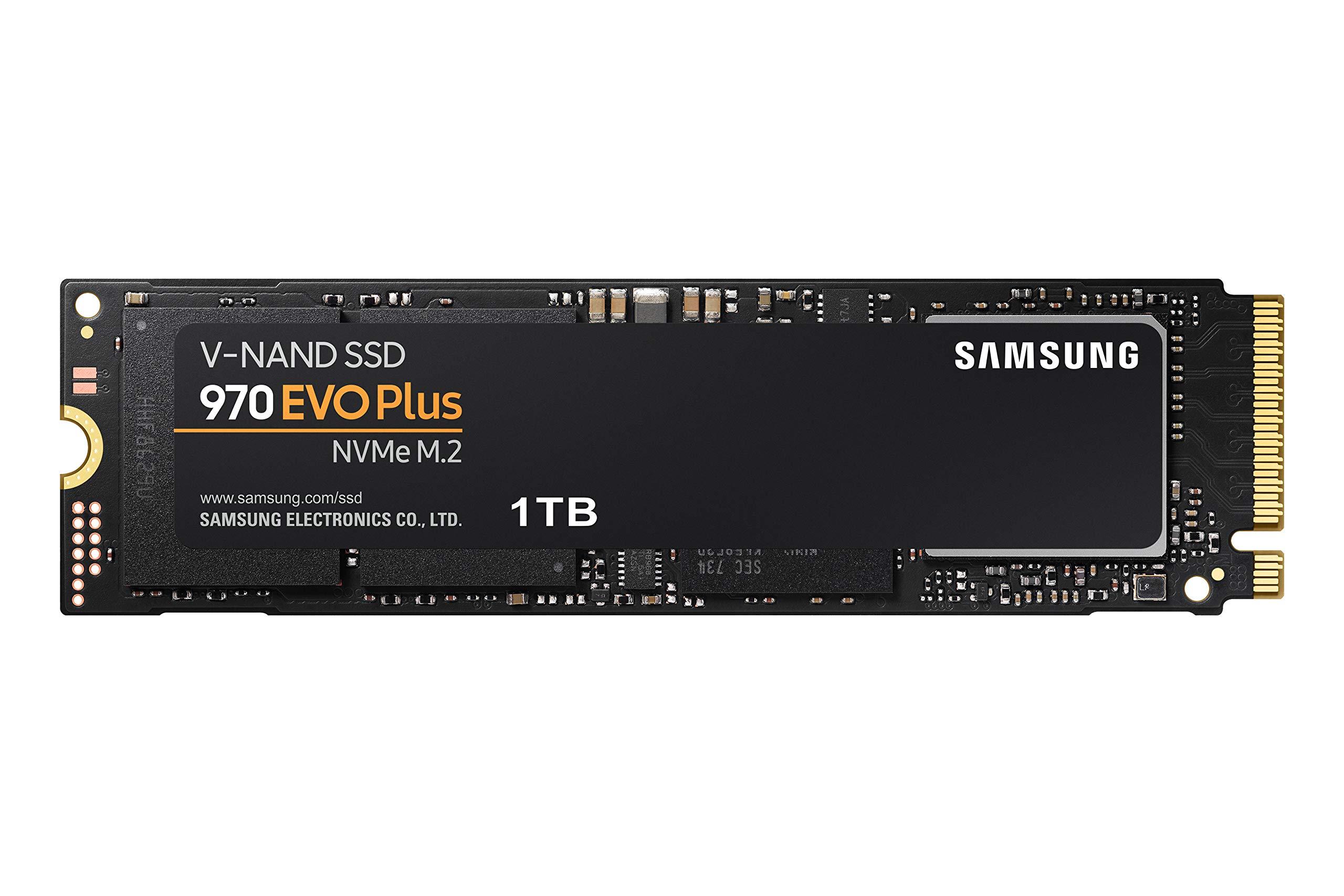 Samsung 970 EVO Plus 1TB SSD (MZ-V7S1T0B/AM) by Samsung