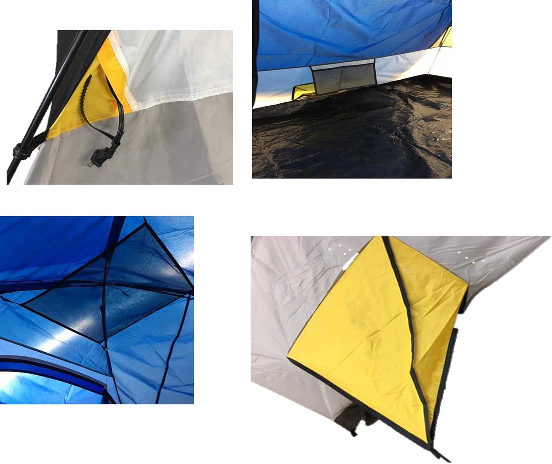 Lite Pak 20 with Magadi 5 Tent Combo Set Alpinizmo High Peak USA Kodiak 20 Sleeping Bag Blue//Red One Size HP 348A