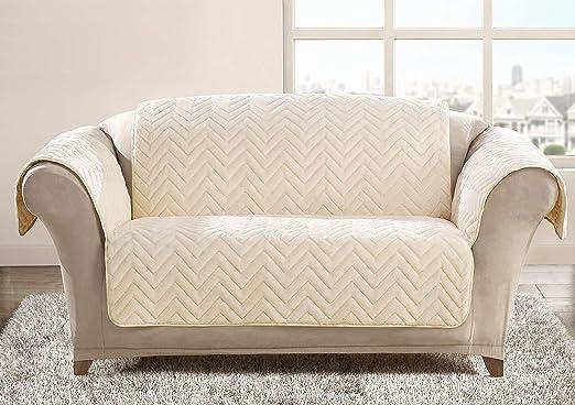 Ashley Mills - Funda para sofá Acolchada, diseño de Rayas ...