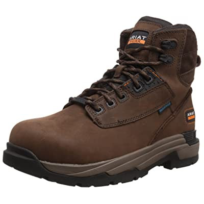 "Ariat Men's Mastergrip 6"" H2O Work Boot: Shoes"