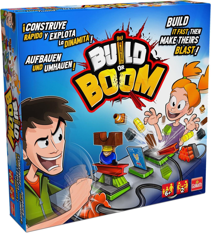 Goliath- Build or Boom Juego de Construcción y Habilidad, Color ...