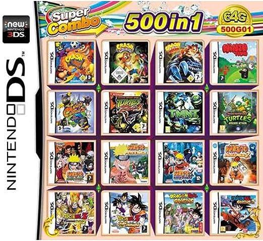 CMLegend 500 Juego en 1 NDS Game Lot Card Super Combo ...