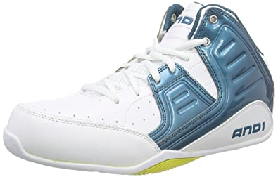 dc0fe6d9064 AND1 Mens Rocket 4.0 Mid Athletic   Sneakers Blue