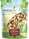 Organic Blanched Roasted Hazelnuts, 4 Pounds - Non-GMO, No Skin, Unsalted, Kosher, Vegan, Keto, Paleo, Dry Roasted…