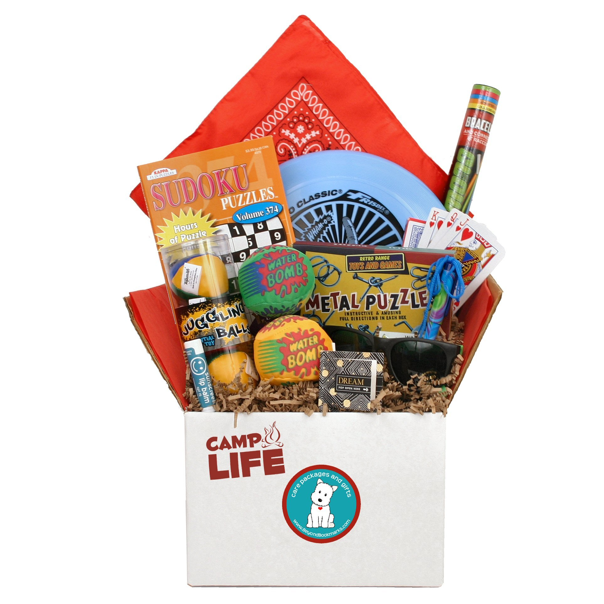 Beyond Bookmarks Camp Life - Summer Camp Care Package for Teens, Tweens & Counselors
