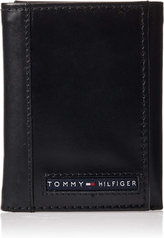 Tommy Hilfiger - Tarjetero de Cuero Hombre