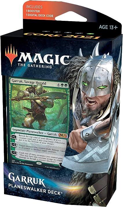 Best Wild Decks 2021 Amazon.com: Magic: The Gathering Garruk, Savage Herald