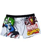 1 Paire pour homme Personnages de Marvel Boy Boxer