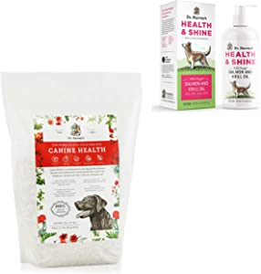 Dr. Harvey's Canine Health 5lb Base Mix for Dogs Health & Shine Salmon and Krill Oil for Dogs