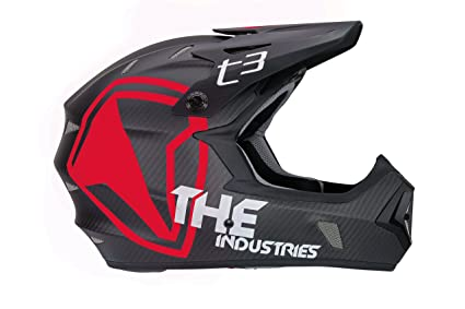 eb155a2e2 Amazon.com   THE Industries Adult T3 Carbon Shield BMX and Mountain ...