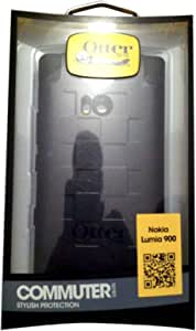 OtterBox Commuter Series Case for Nokia Lumia 900 - Retail Packaging - Black