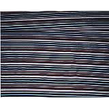 1 m * 1,5 m - Stoff - Jersey / Baumwolljersey - Streifen - blau rot weiß - z.B. für Shirts u.v.m. Stoffe Meterware - Kleiderstoff / Dekostoff - gemustert / gestreift - bunte Streifen Streifenstoff / Streifenmuster
