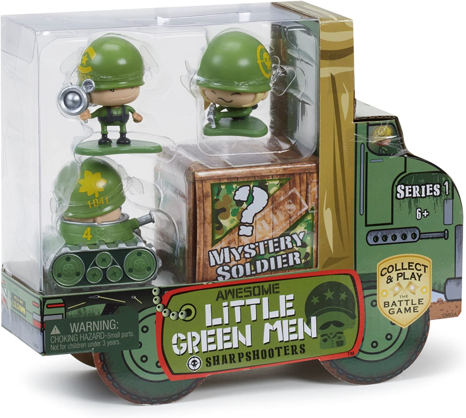 Awesome Little Green Men Series 1 Sharp Shooters The Battle Game New