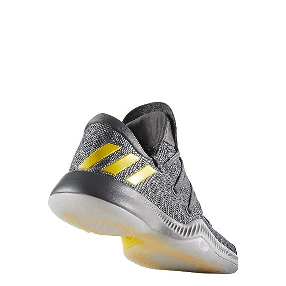 adidas Harden B/E J, Chaussures de Fitness Mixte Enfant, Noir (Negbas/Gricin/Ftwbla 000), 40 EU