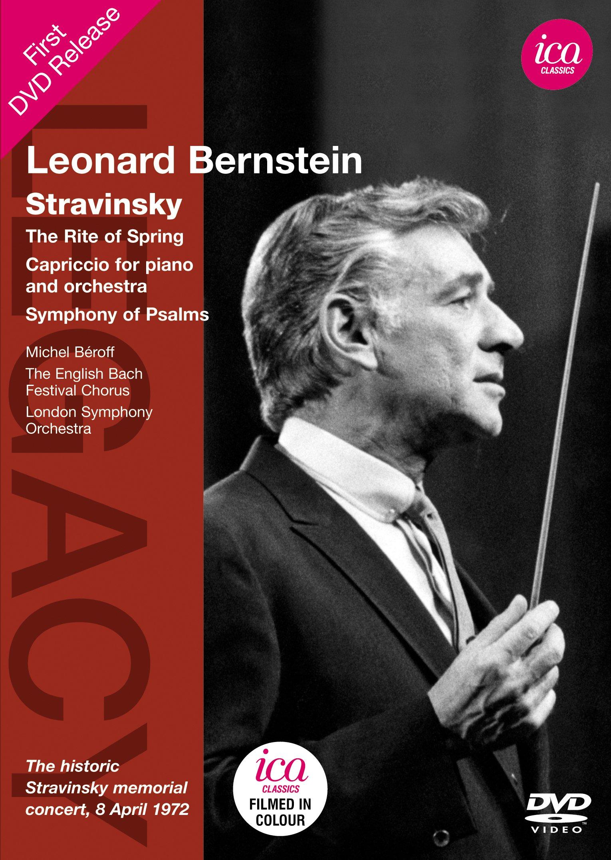 DVD : Leonard Bernstein - Leonard Bernstein Conducts Stravinsky (DVD)