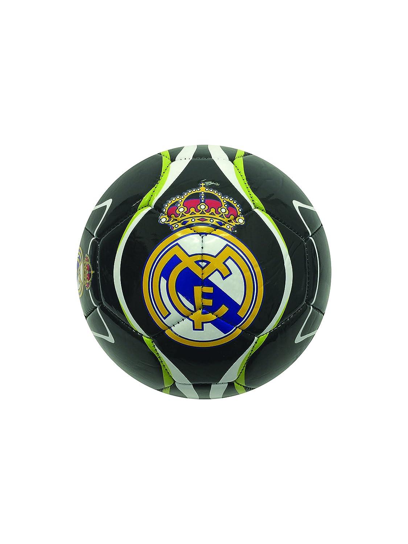 Real Madridボール( # 2 , # 4 , # 5 ) B01I05ANUSブラック Size 2