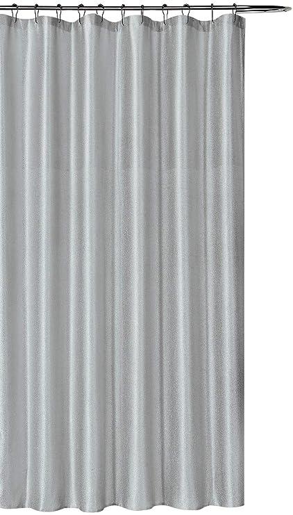 Amazon SALLY TEXTILES INC Luxury Fabric Shower Curtain