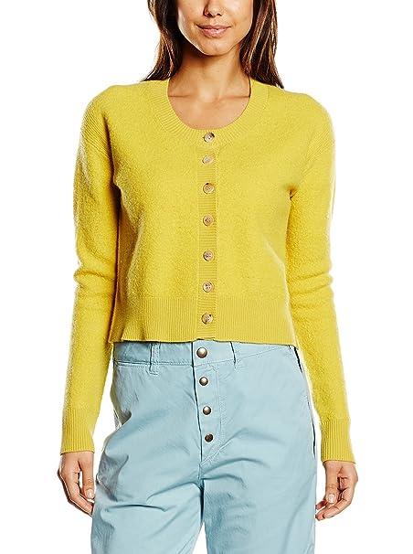 new style c15f0 889f6 SEE BY CHLOÉ Cardigan Giallo IT 40: Amazon.it: Abbigliamento