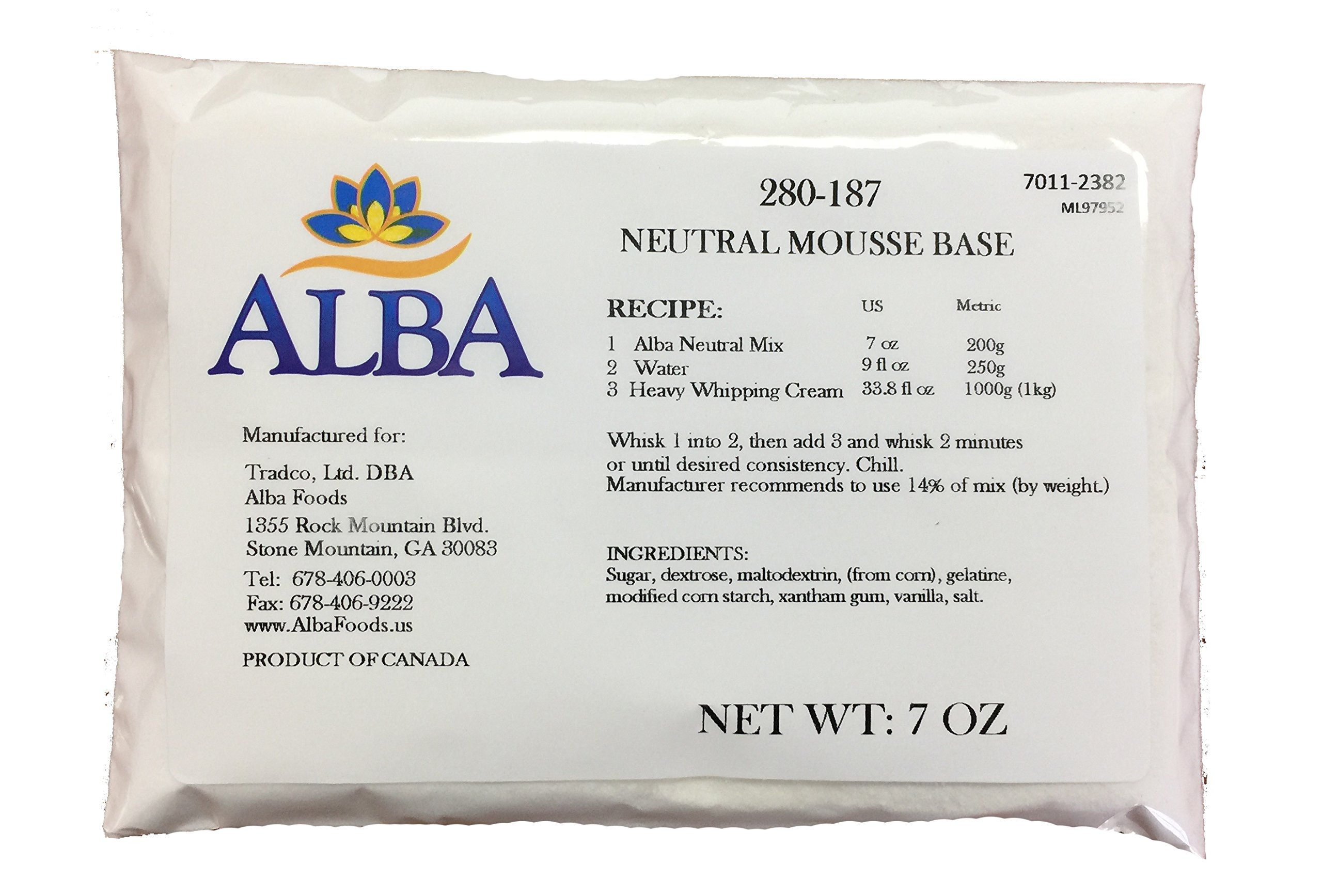 Neutral Mousse (Cold Process Instant Mix) BULK