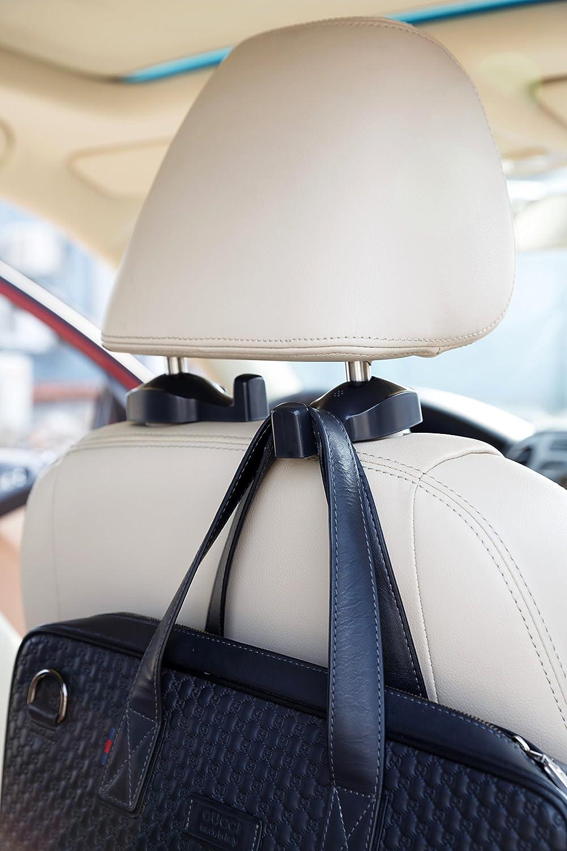 ChiTronic Auto-Kleiderb/ügelhalter zur Anbringung an die Kopfst/ütze 2 St/ück
