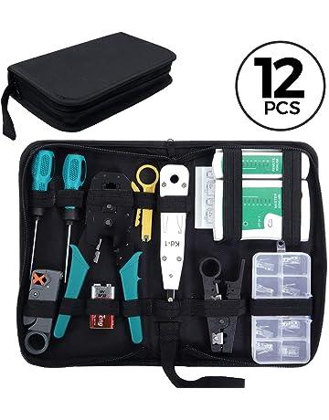 SGILE 12 en 1 Professional Testeur de Network Réseau Câble Kits d outils de  Réparation d9a996d1ba2