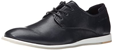 CK Jeans Men's Darian Leather Fashion Sneaker, Navy, ...