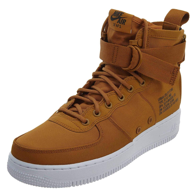 0900e283af38 NIKE SF Air Force 1 Mid Men s Shoes Desert Ochre Sequola-White 917753-700  (13 D(M) US)  Amazon.co.uk  Shoes   Bags