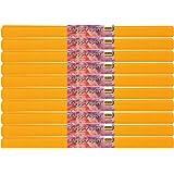 Idena 60019 papier crépon, 50 x 250 cm-lot de 10 rouleaux de papier crépon orange