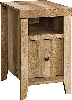 "Sauder , Furniture Side Table, 16.535"" L x 21.457"" W x 26.496"" H, Craftsman Oak Finish"